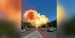 Rusya'da Akaryakıt İstasyonunda Patlama!