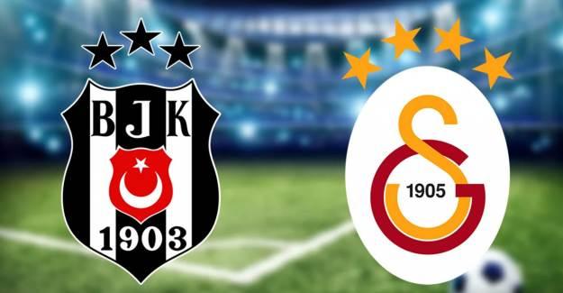 Derbide Kazanan Beşiktaş! Beşiktaş 2-0 Galatasaray