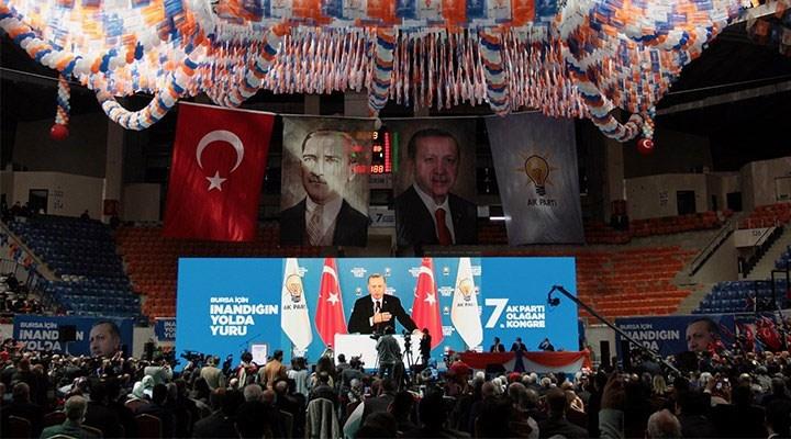 Erdoğan'ın lebaleb kongrelerine ilişkin soru önergesi Meclis Başkanı'ndan veto yedi!