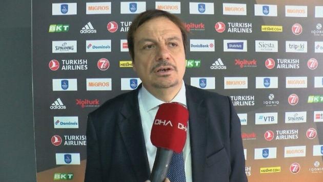 EuroLeague'den Ergin Ataman'a ceza