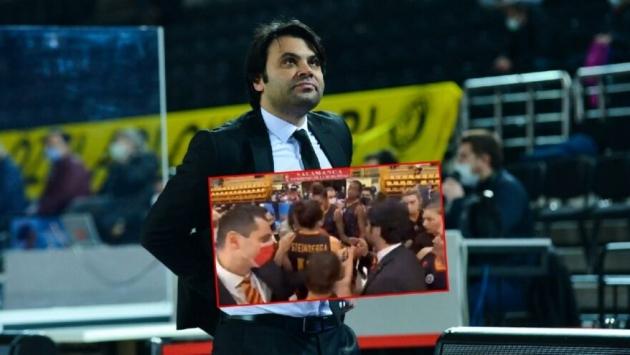 Galatasaray Başantrenörü Efe Güven'in küfürlü sözlerine tepkiler büyüyor