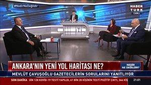 Bakan Çavuşoğlu Habertürk TV'de konuştu