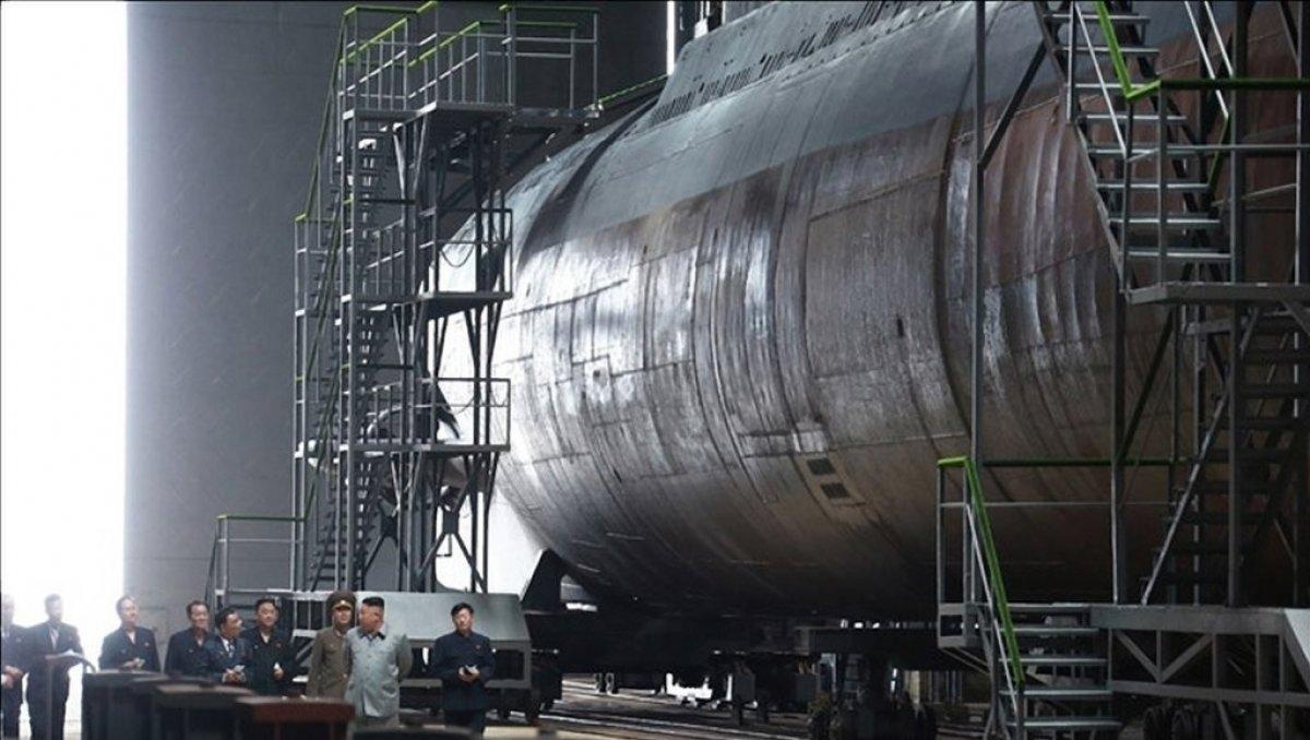 Kuzey Kore nin balistik füze denizaltısını tamamladığı iddia edildi #2