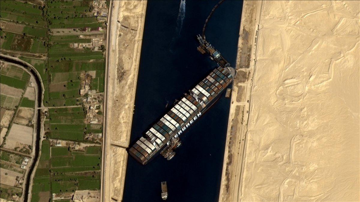 Mısır dan Ever Given kararı: Tazminat ödemeden hareket edemez #1
