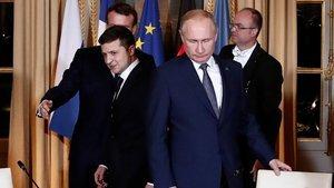 Zelenskiy'den Putin'e görüşme daveti