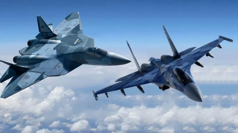 Su-57 ve Su-35