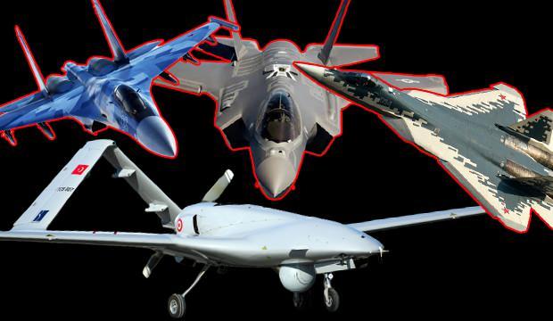 Al Jazeera'den dikkat çeken Türkiye haberi! 'Su-57, Su-35, F-35 ve SİHA'lar...'