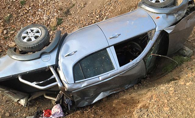 Feci kaza: Karı koca öldü, 4 kişi yaralandı