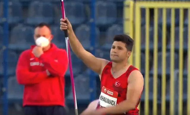 Para milli atlet Muhammet Khalvandiden Avrupa Şampiyonasında...