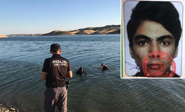 18 yaşındaki genç serinlemek için girdiği baraj gölünde boğuldu
