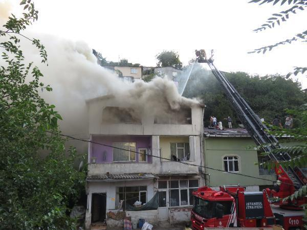 Son dakika.. İstanbulda korku dolu anlar: Hortumlarla müdahale...