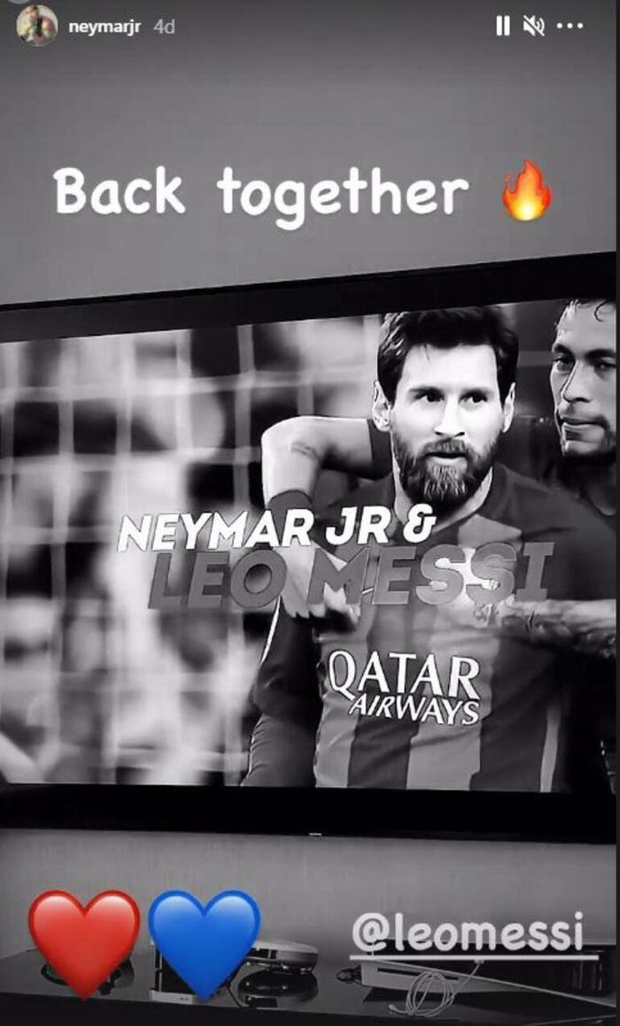 Neymar'dan paylaşım