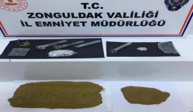 Zonguldak'ta uyuşturucu operasyonu!