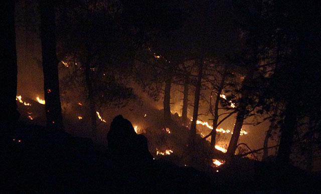 Son dakika: Anamurdaki orman yangını kontrol altına alındı